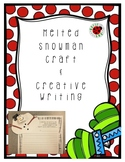 Winter Melted Snowman Creative Writing and Craft