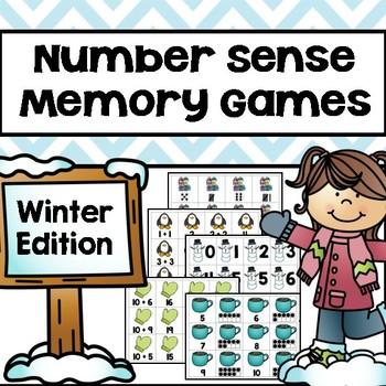 Winter Memory Games