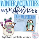 Winter Mindfulness Activities, Digital & Printable Version