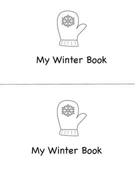 Winter Mini Book (B&W)