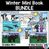 Winter Mini Book Bundle - Penguins, Wolves, Polar Bears, Snow and more