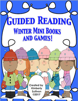 Reading Comprehension Passages and Questions  Winter Mini Books   Kindergarten