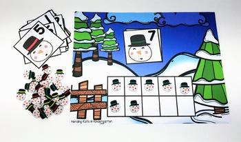 Winter Mini Eraser Activities