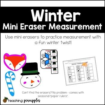 Winter Mini Eraser Measurement