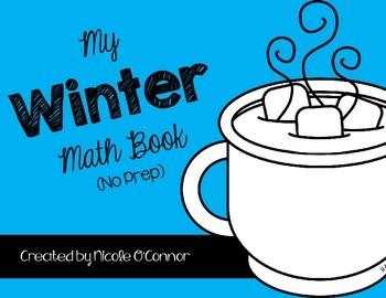 Winter Mini Math Books! (3 books & No Prep)