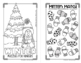 Winter Mini Puzzle Book for Kinders