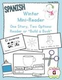 "Winter Mini Book: Reader or ""Build a Book"" (Spanish)"