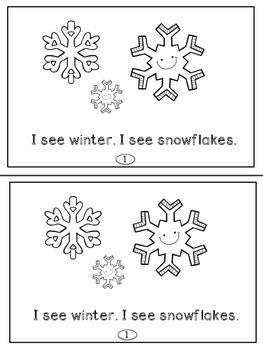 Winter Mini Readers For Primary Readers (K-2)