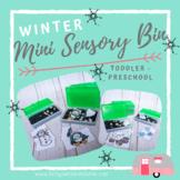 Winter Mini Sensory Bins ~!FREEBIE!~