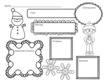 Winter Mini Unit~ Includes Graphic Organizers & Much More!