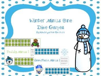 Winter Minus One Dice Games