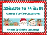 Winter Minute To Win It