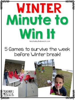 Winter Minute to Win It Games
