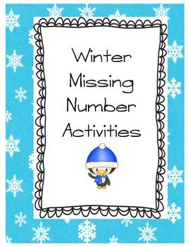 Winter Missing Number Activities