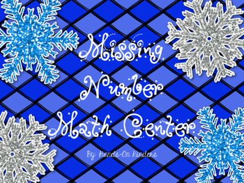 Winter Missing Number Center