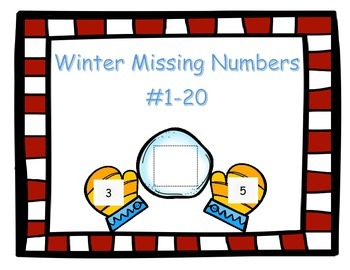 Winter Missing Numbers