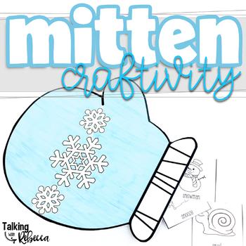 Winter Mitten Articulation Craftivity