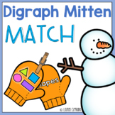 Winter Mitten Digraph Sort Activity ch sh th wh