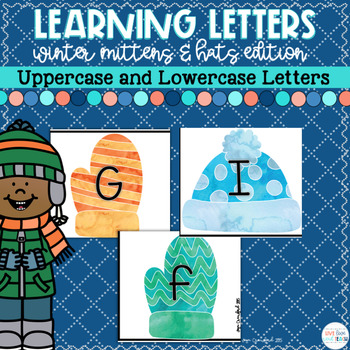 Winter Letter Matching and Recognition(Upper and Lower Case Letters)