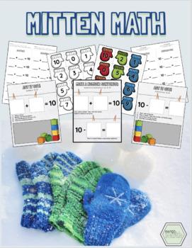 Winter: Mitten Math / Addition + Subtraction to 10