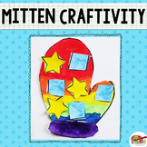 Winter Mitten Printable Craftivity Template
