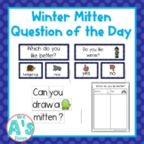 Winter Mitten Question of the Day