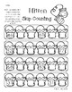 Winter Mitten: Skip Counting by 5's Differentiated Worksheets