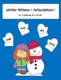 Winter Mittens ~ Articulation!