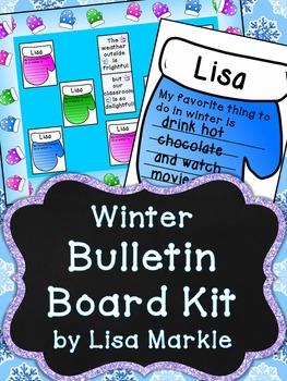 Winter Mittens Bulletin Board Kit