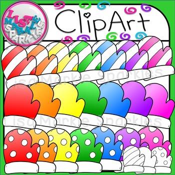 Winter Mittens Clip Art