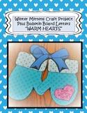 Winter Mittens Craft, Winter Craft, January Craft