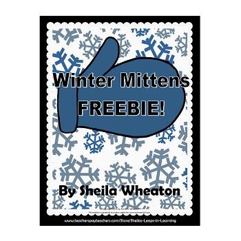Winter Mittens Freebie!