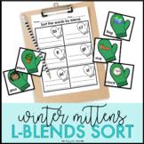 L Blends Sort   L Blends Activity   Winter Phonics Center