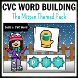 Winter Mittens Themed CVC Word Building Pack