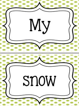 Winter Mix It Up: A Complete and Incomplete Sentence Game