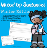 Winter Mixed-Up Sentences Pack