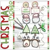 Holiday Mobile Activity with Christmas, Hanukkah, Kwanzaa,