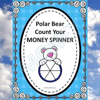 "Winter Polar Bear ""Counting Money"" (Money Activities)"
