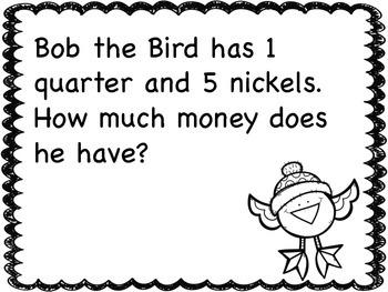 Winter Money Story Problems - 2.md.c.8 -
