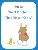 Winter Money Word Problems