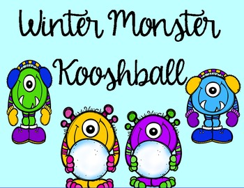Winter Monster Kooshball