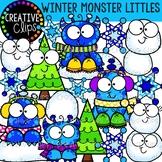 Winter Monster Littles: Winter Clipart {Creative Clips Clipart}