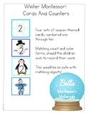Montessori - Winter Cards & Counters