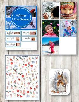 Winter Montessori Pack