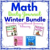 Kindergarten - Special Education -  Math Daily Journals BU
