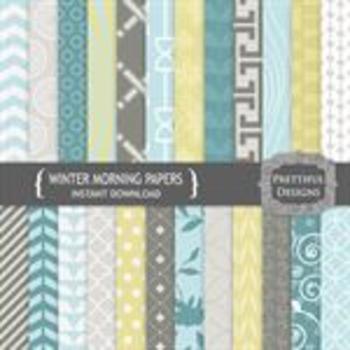 Winter Morning Paper Pack
