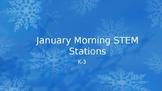 Winter Morning STEM Stations