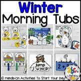 Winter Morning Tubs