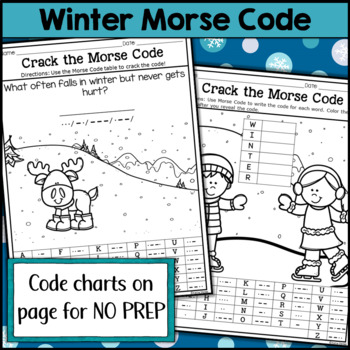 Winter Morse Code