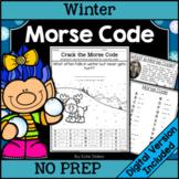 Winter Morse Code Activities | Printable & Digital